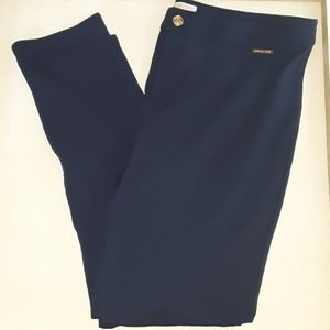 {Michael : Michael Kors} Navy Blue Skinny Pants